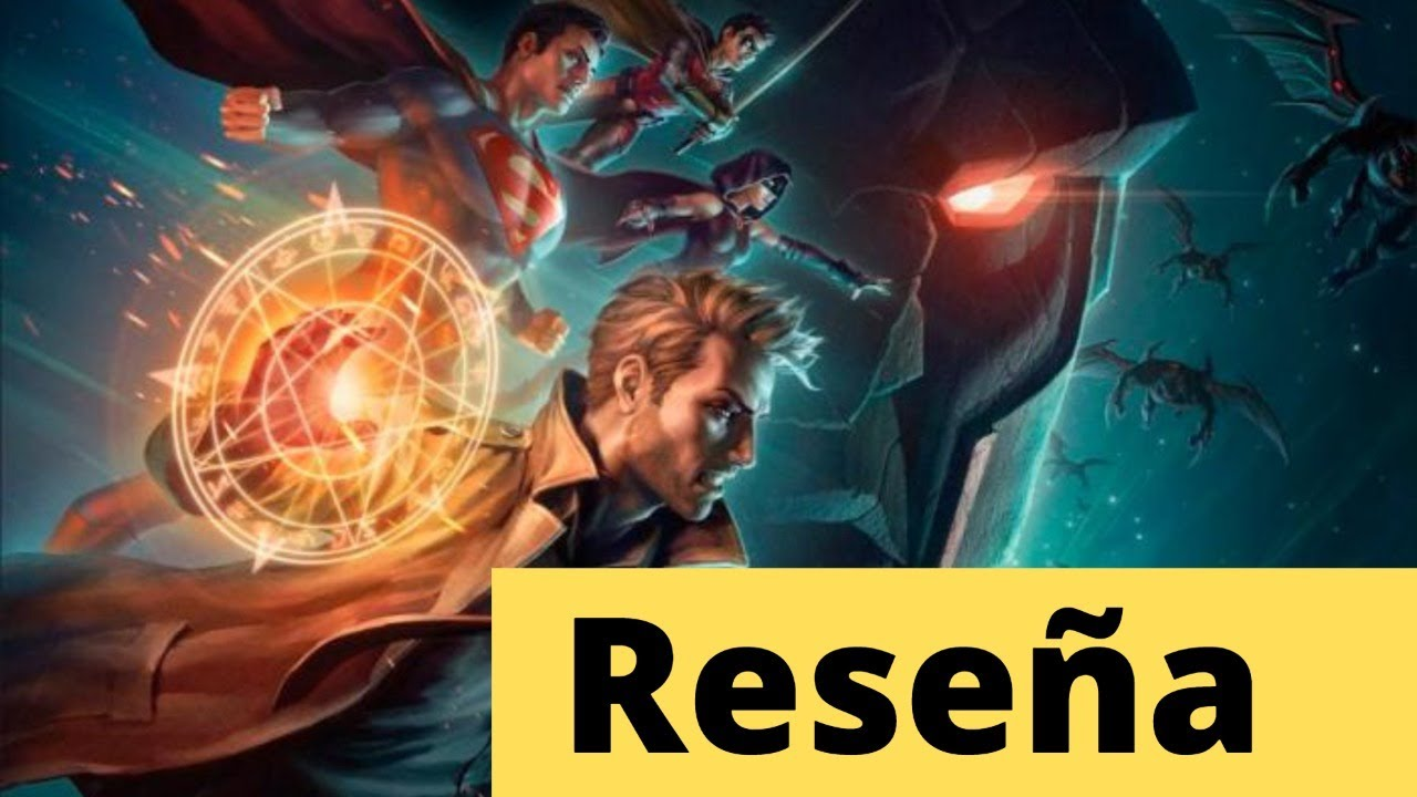 Reseña Justice league dark apokolips war