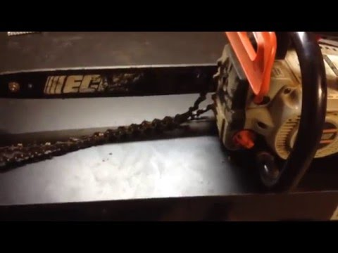 How to Put The Chain Back On A Chainsaw
