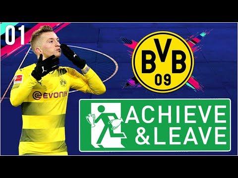 [NEW SEASON] FIFA 19 | Achieve and Leave S3 Ep1 - BORUSSIA DORTMUND!! thumbnail