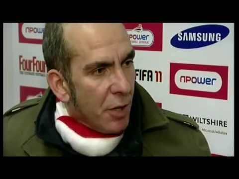 NEWS Sport - Paolo Di Canio rants after being sent to the stands - archive
