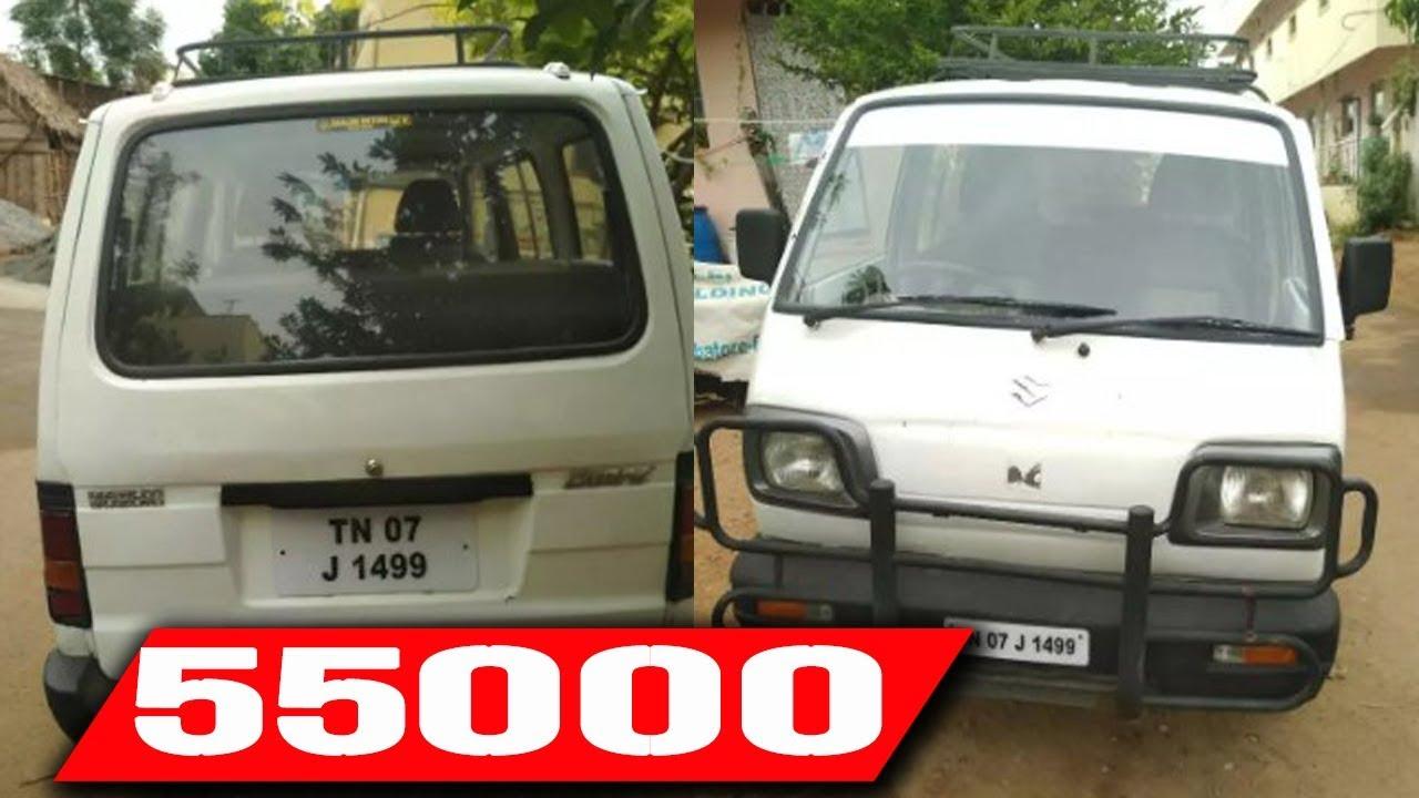 Maruti Suzuki Omni Second Hand Car Sales in Tamilnadu   Omni Used Car Sales  in TamilNadu 