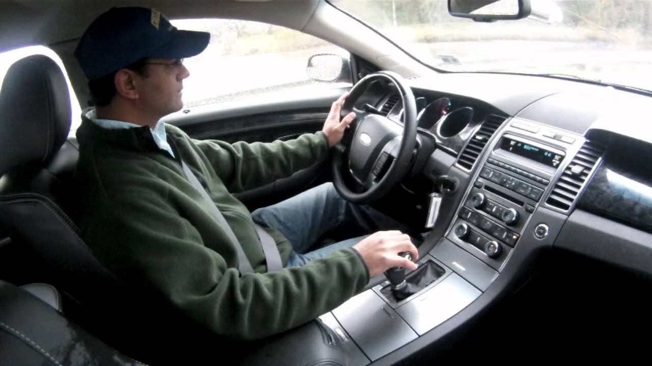 2012 ford taurus limited test drive car review youtube