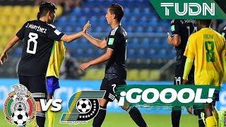 ¡Pero qué error del portero! | México 2 - 0 Islas Salomón | Mundial Brasil Sub 17 - G-F | TUDN