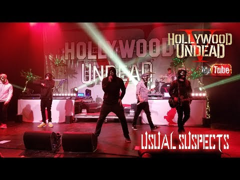 HOLLYWOOD UNDEAD *USUAL SUSPECT* @ THE PLAZA LIVE ORLANDO (10/3/17)