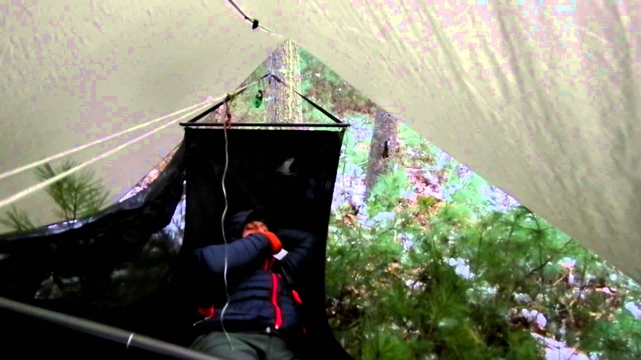 Medium image of jacks r better cat tarp 11 x 14 and the bear mt bridge hammock   youtube