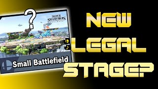 SMALL BATTLEFIELD NEW LEGAL STAGE SMASH ULTIMATE 8.1.0 | Meta Of Smash