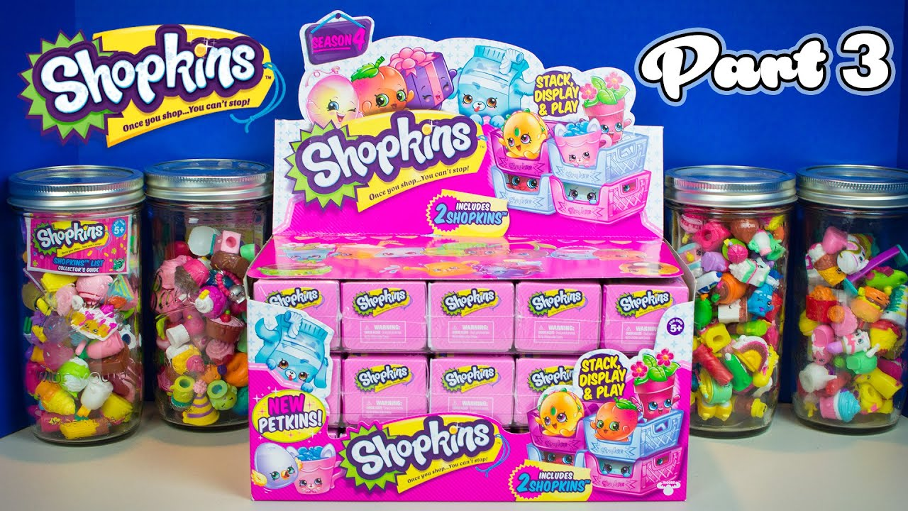 Shopkins season 4 petkins blind baskets part 3 hunt for a limited