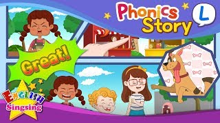 Phonics Story L - English Story - Educational video for Kids
