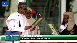 Buhari, Osinbajo Sworn-In For Second Term