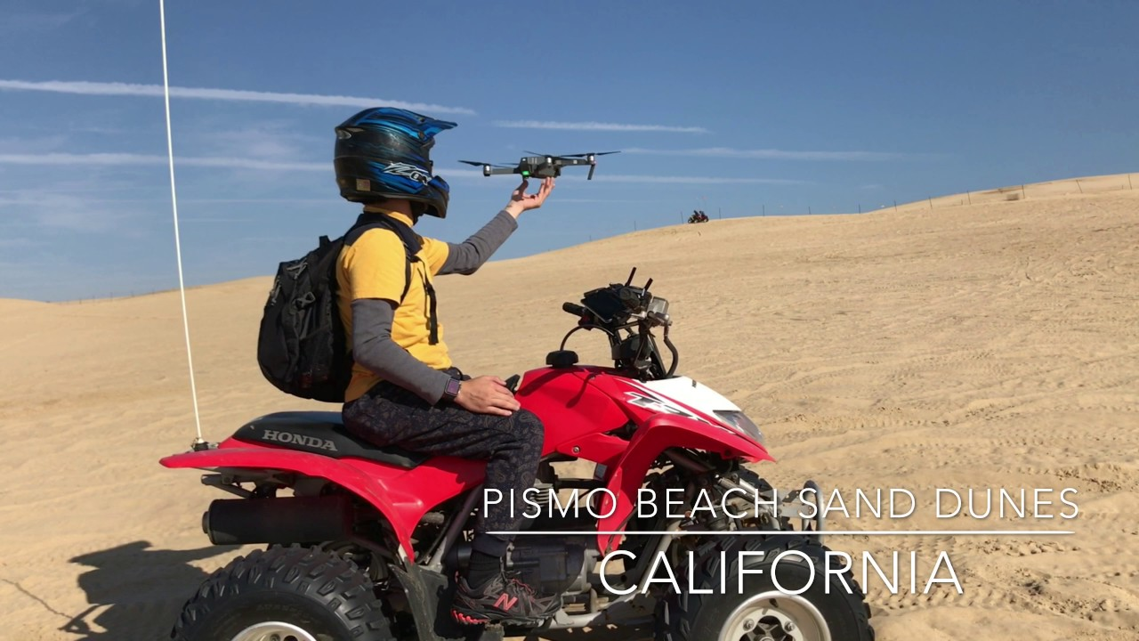 Atv At Sand Dunes Pismo Beach Ca Dji Mavic Pro 4k
