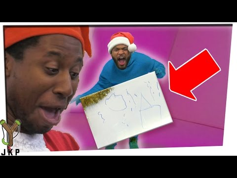 Christmas Pictionary   WHAT IS THIS!!!