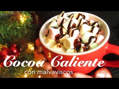 Cocoa Caliente | Bebida caliente con bombones | Bebida navideña