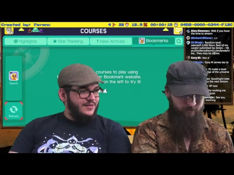 Super Mario Maker: Vacation Locations - Karibukai LIVE