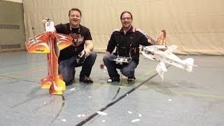Rc Plane Crash And Fail Compilation Indoor 2013-2014