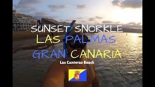 Snorkeling in Las Palmas, Gran Canaria (Las Canteras Beach)