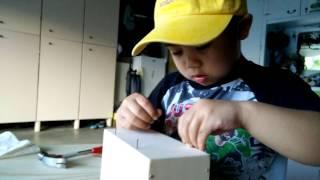 Giancarlo Building A Wooden School Locker