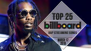 Baixar Top 25 • Billboard Rap Songs • March 17, 2018 | Streaming-Charts