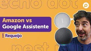 Imagem do prévia do vídeo: Amazon ECHO DOT 4 vs Google NEST MINI! Qual o melhor CUSTO-BENEFÍCIO 2021?