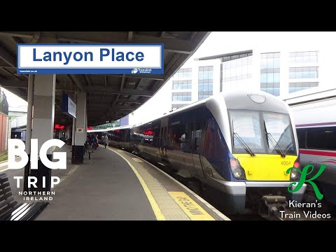 Trains At Belfast Lanyon Place, BDL - 19/5/19