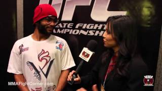 Hugo Viana Post Fight Interview