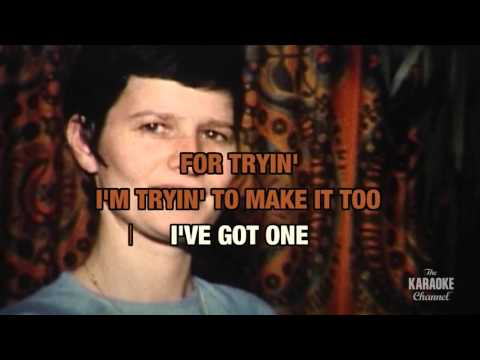 Poor Side Of Town in the style of Johnny Rivers | Karaoke with Lyrics