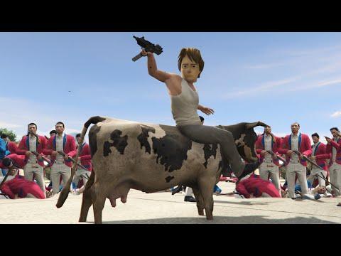 TIME TRAVEL REVOLUTION MOD! (GTA 5 Mod Funny Moments)