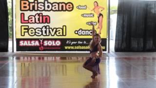 Joanna Świetlicka - International Amateur Salsa Soloist - Salsa Solo 2014 - Friday
