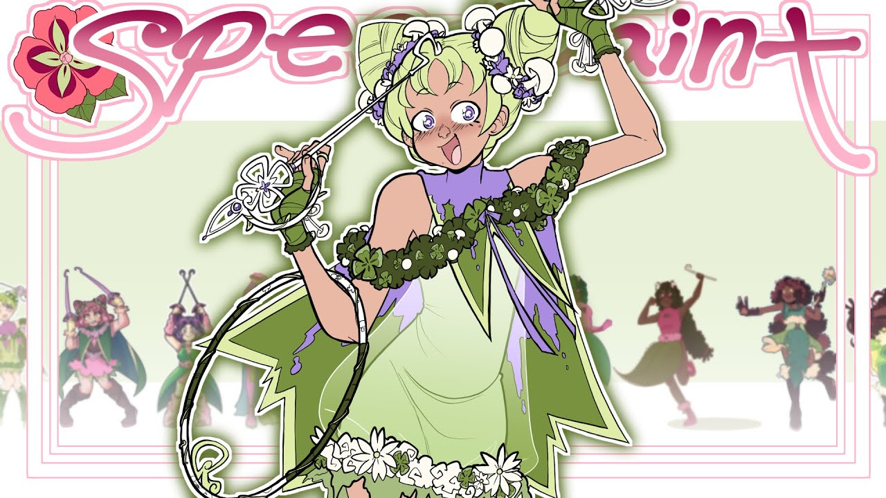 Download Magical Girl Art Telephone 2; Everyone Forgets Her Design Edition