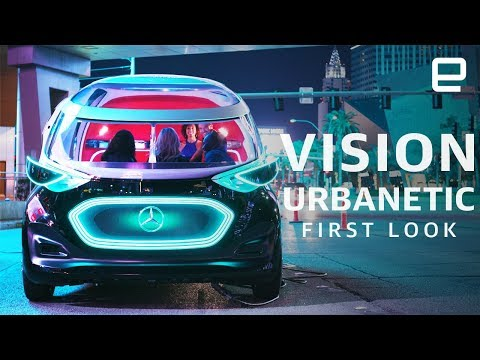 Mercedes Vision Urbanetic First Look: Part taxi, part delivery van at CES 2019