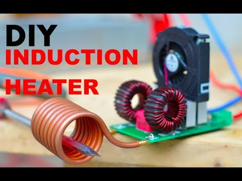 How to make an Induction Heater (Like a