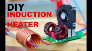 How to make an Induction Heater (Like a professional one)