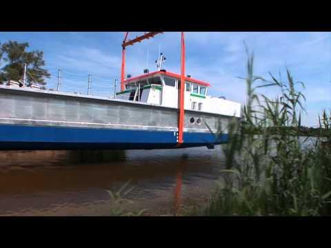 A work boat by Alumarine Shipyard
