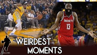 Weirdest Moments - NBA Regular Season 2018 -2019