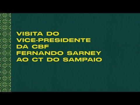 VISITA DO VICE-PRESIDENTE DA CBF AO CT DO SAMPAIO 🇧🇴