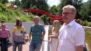 Neue Rutsche - Höhenfreibad Bad Urach plant Umbaumaßnahmen
