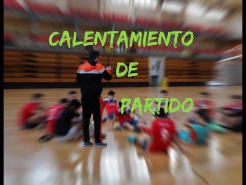 Calentamiento de partido en Fútbol Sala | Pre-match Futsal warm up |Futsal