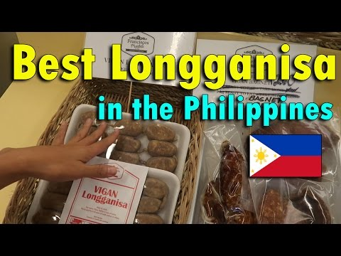 THE BEST LONGGANISA IN THE PHILIPPINES | April 16th, 2017 | Vlog #86