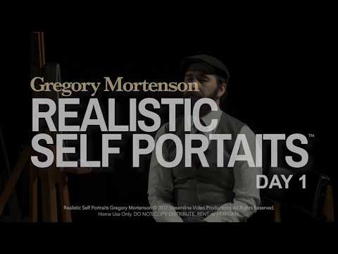 "Gregory Mortenson ""Realistic Self Portraits"" Sneak Preview"