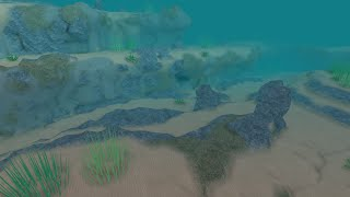 ROBLOX - Smooth Terrain Scuba Diving place