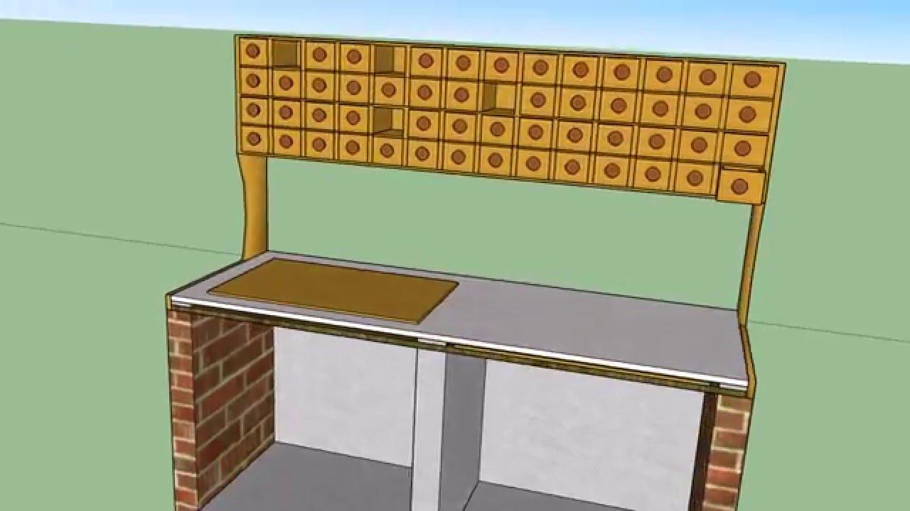 Mueble de cocina para especias youtube for Mueble platero para cocina