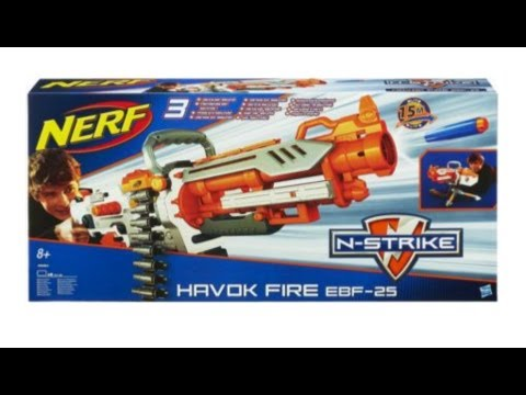 Internet Enabled Nerf Vulcan Sentry Gun - YouTube