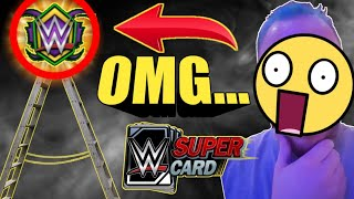 WRESTLEMANIA 34 FEMALE LADDER REWARD + WM34 PLATINUM PACK OPENINGS! Noology WWE SuperCard Season 4!
