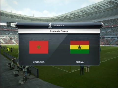 PES 2013 | Morocco - Ghana | Africa Cup of Nations 2013 Quarter-final