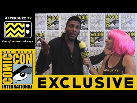 Yusuf Gatewood The Originals @ 2015 San Diego ComicCon  AfterBuzz TV