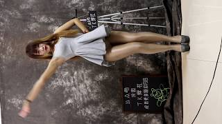 IDance 1. TK Club Nan Cute Asian Dance With Mini Skirt/Vertical