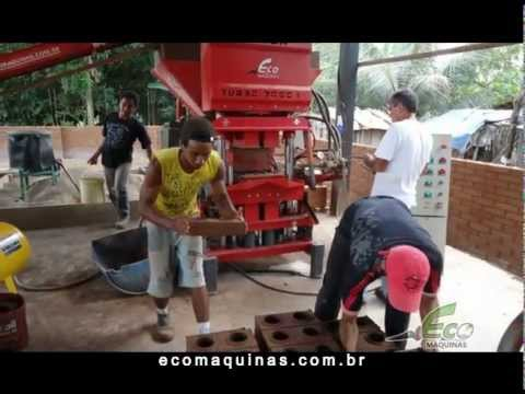 Machine or Press Ecological Bricks | Eco Master Turbo Line