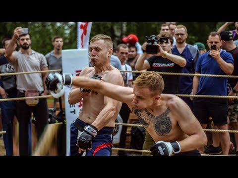 DRUID vs Russian Factory worker !! Boxing style !