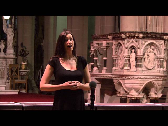 Mary Flaherty sings - O Devine Redeemer - Gounod