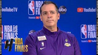 Frank Vogel Postgame Interview - Game 1   Heat vs Lakers   September 30, 2020 NBA Finals