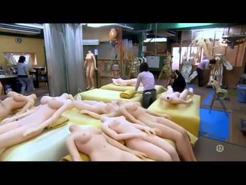 Công nghệ sx búp bê tình dục Nhật Bản
